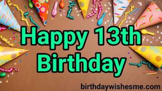 Happy 13th birthday daughter