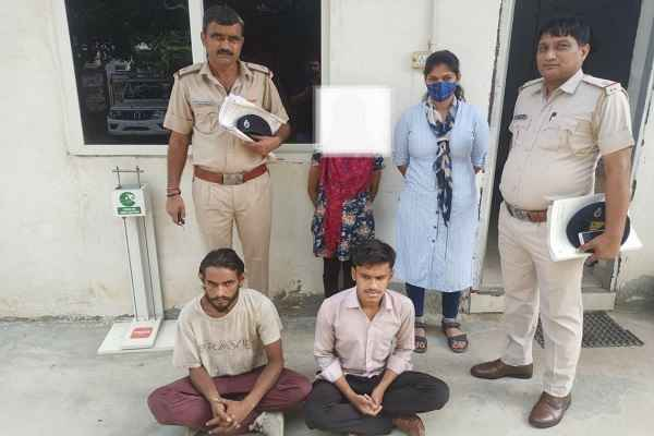 crime-branch-sector-85-arrested-women-chor-news