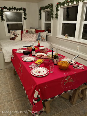 A Minimalist Montessori Home Tour: The Dining Room-Christmas Decor Too