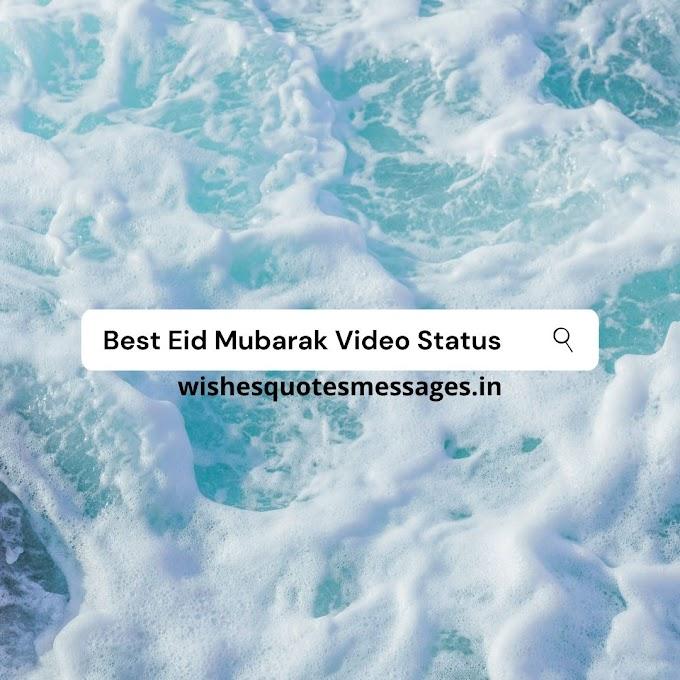 Eid Mubarak Video Status for Whatsapp FREE Download