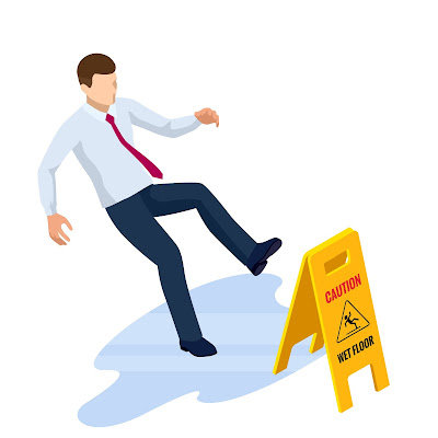 clearwater Florida slip and fall trip injury lawsuit claim attorney traumatic brain injury concussion