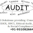Social Audit, Ethical Audit, BSCI, C-TPAT, SEDEX, SA-8000 certification in Delhi, Noida, Mumbai, Surat, Gurgaon, Moradabad, panipat, Sonepat