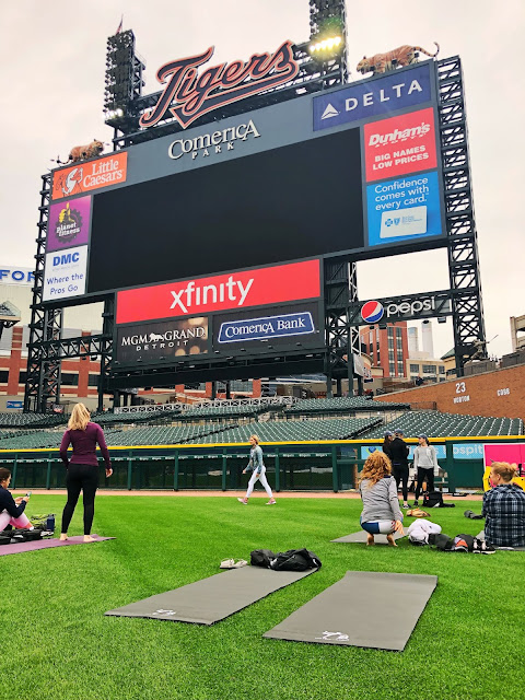 Mind, Body and Baseball at Comerica Park