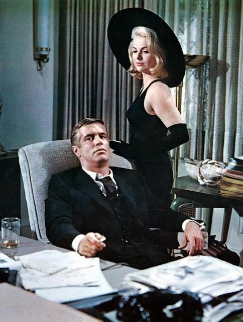 1963. George Peppard, Martha Hyer - The carpetbaggers