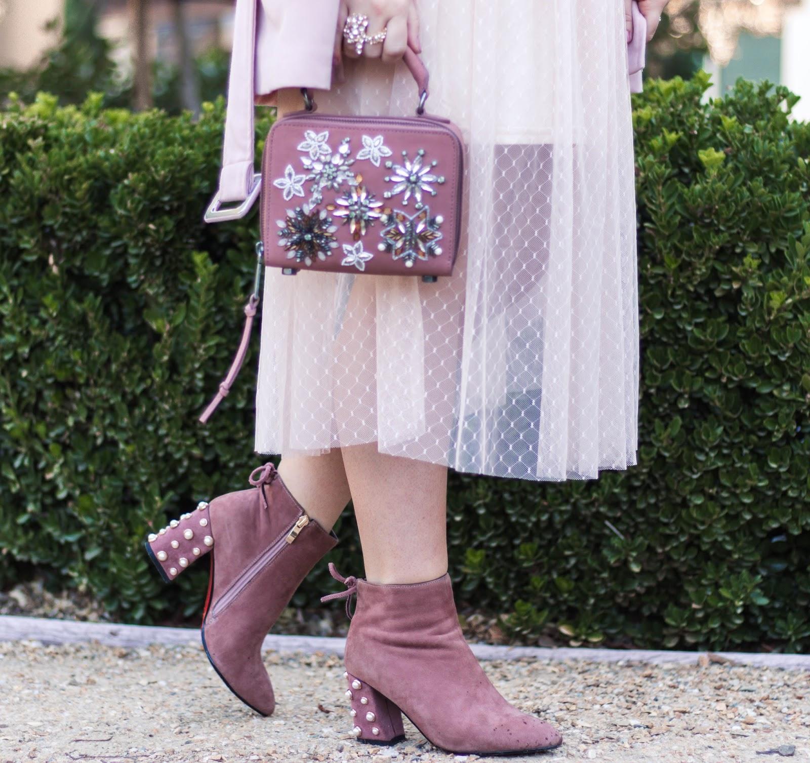 Rebecca minkoff embellished handbag