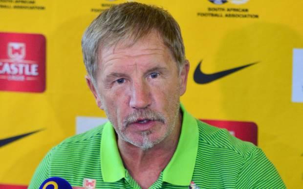 Bafana Bafana head coach Stuart Baxter