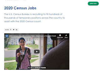 Census 2020 jobs for veterans
