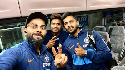 India arrived Auckland