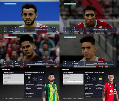 PES 2021 FacePack 2 by Diegotatoosparapes