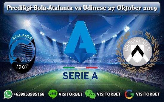 Prediksi Skor Atalanta vs Udinese 27 Oktober 2019