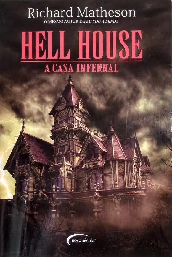 Capas de Livros (Brasil): Richard Matheson: Hell House - A casa infernal  (1971)