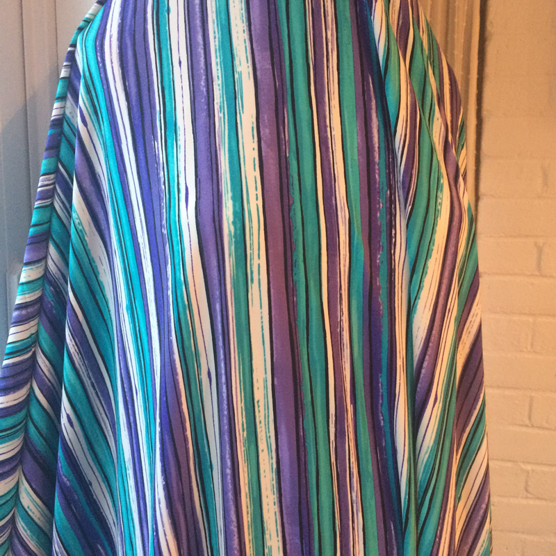 Knit Vertical Stripes Pattern : Fabric mart fabricistas pattern review