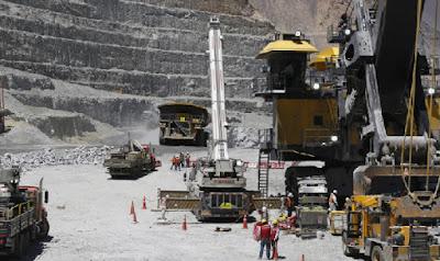 Minería evitó mayor caída de Producción Industrial: Decreció 2,6%