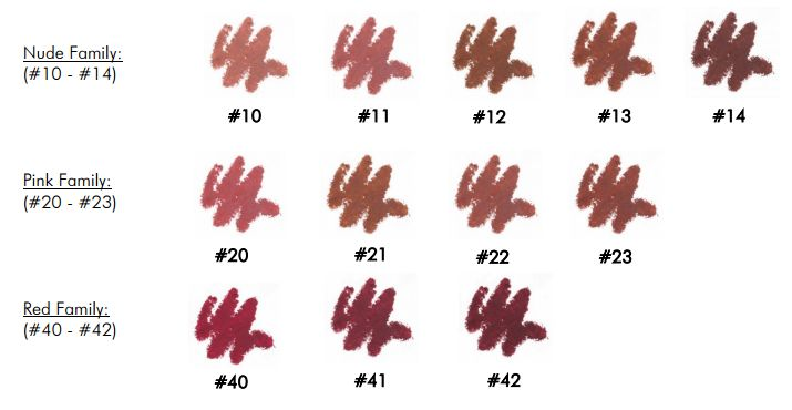 MAKE UP FOR EVER High Precision Lip Pencil n23 n14 review swatches 2