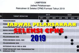 RESMI - Inilah Jadwal Pelaksanaan dan Seleksi CPNS 2019 dari Menpan RB