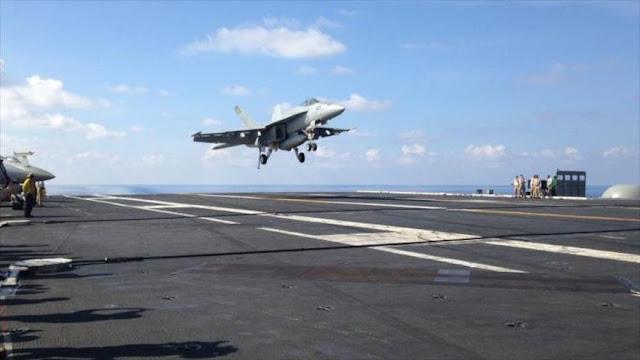 EEUU admite que monitoreó ejerecicios chinos pese a advertencia