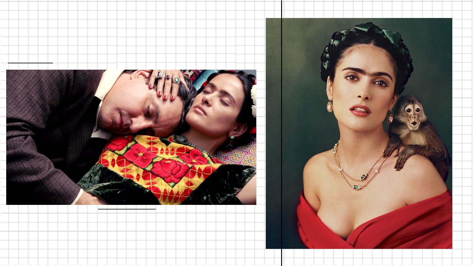 Cenas do filme Frida