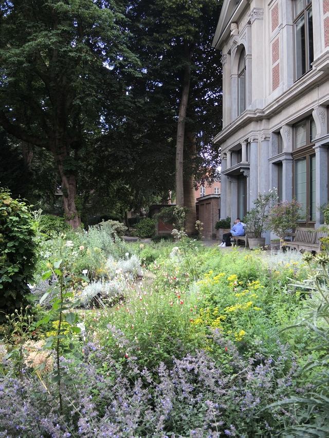 Antwerpen: verpozen in den botaniek