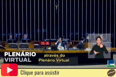 Plenário virtual do Senado