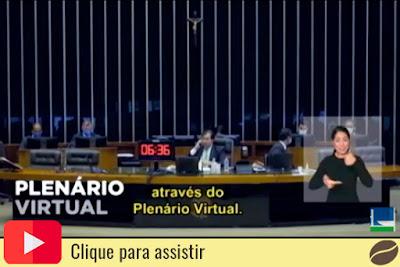 Plenário virtual do Senado