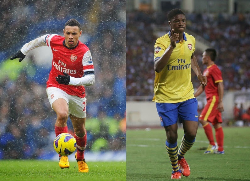 Arsenal confirm Francis Coquelin and Chuba Akpom seal new deal