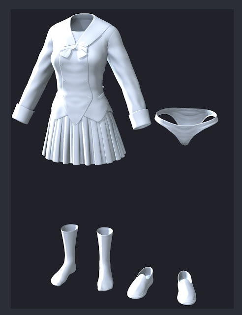 Sailor Maiden for Genesis 3 Female
