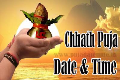 2019 Chhath Puja Date