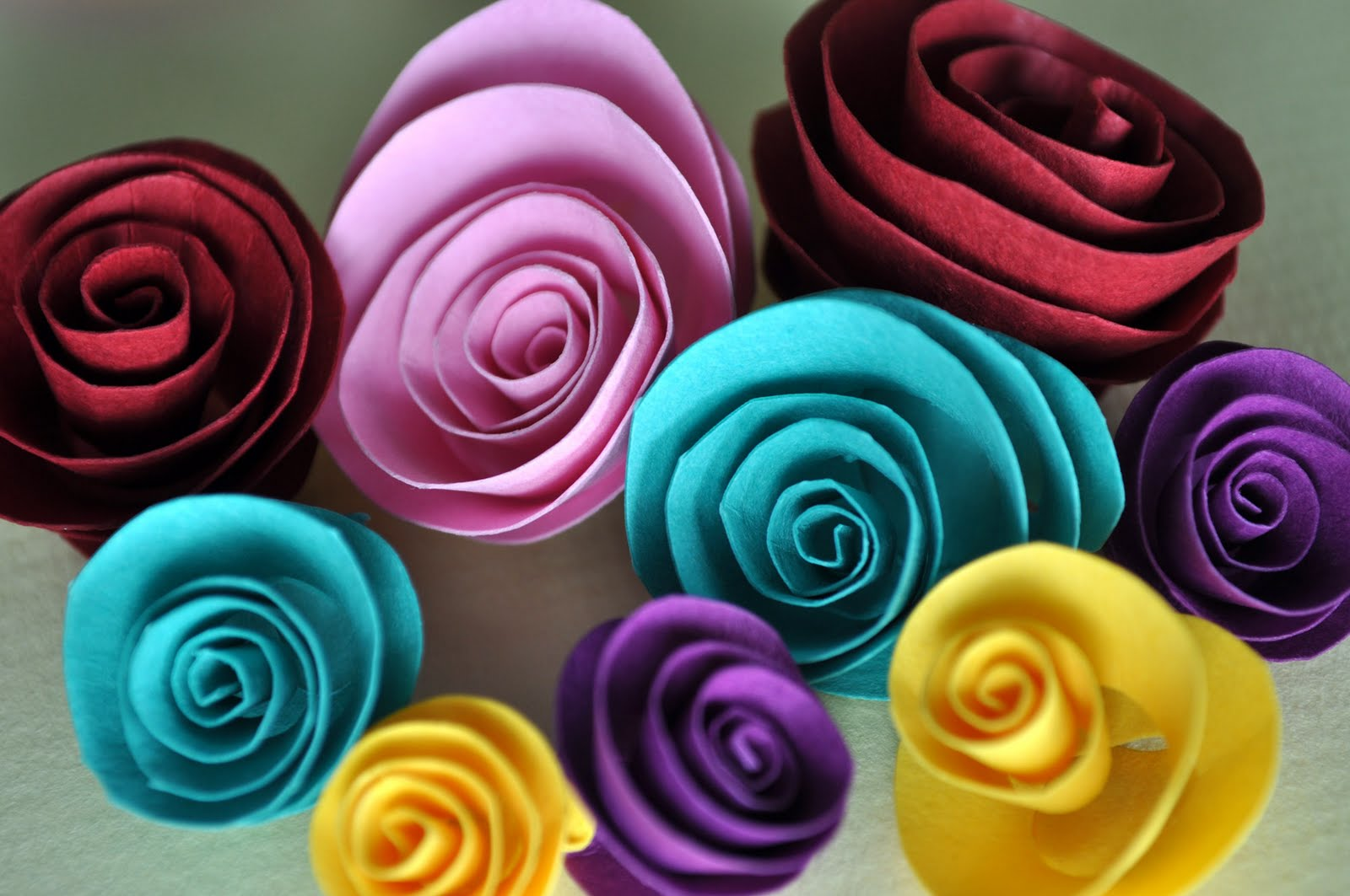 Where can i buy paper roses