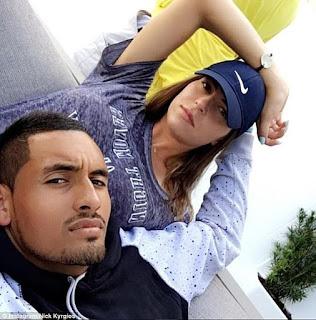 Ajla Tomljanovic S Ex Boyfriend Nick Kyrgios