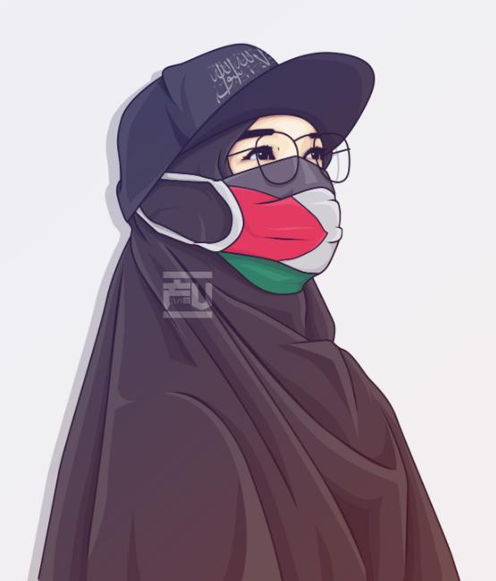 93 Animasi Kartun Muslimah Cantik Keren Cikimm Com