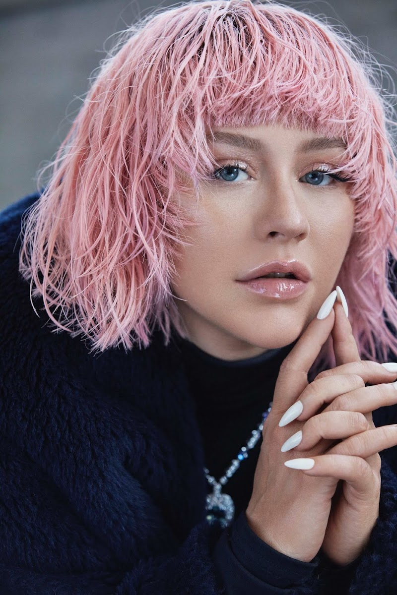 Christina Aguilera Clicked for L'Officiel - Italy Fall 2020