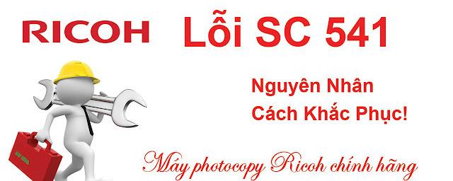 sửa lỗi máy photocopy ricoh SC541