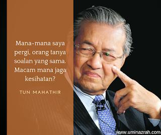 Rahsia dan Tips Kesihatan Tun Mahathir Cergas Umur 93 Tahun