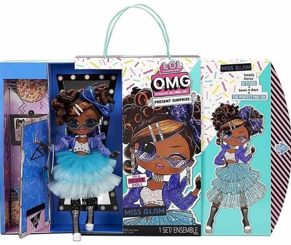 Новая кукла Miss Glam из серии Лол Сюрприз ОМГ 2021