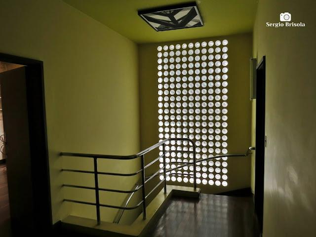 Vista de parte do interior da Casa Modernista - Vila Mariana - São Paulo