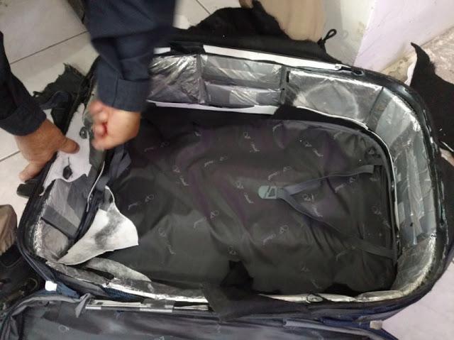 PRF faz apreensão de 5 kg de cocaína em Ji-Paraná com destino a Bahia