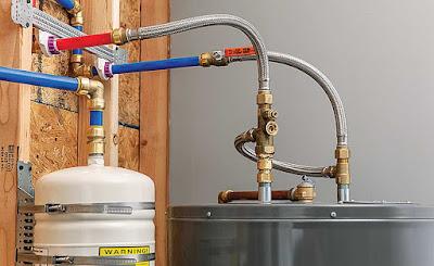 Pipa PEX untuk Water Heater