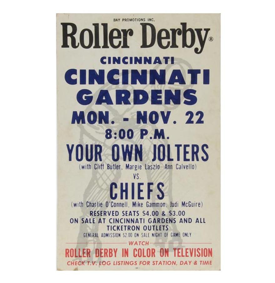 Memories Of The Cincinnati Gardens Derby Rama