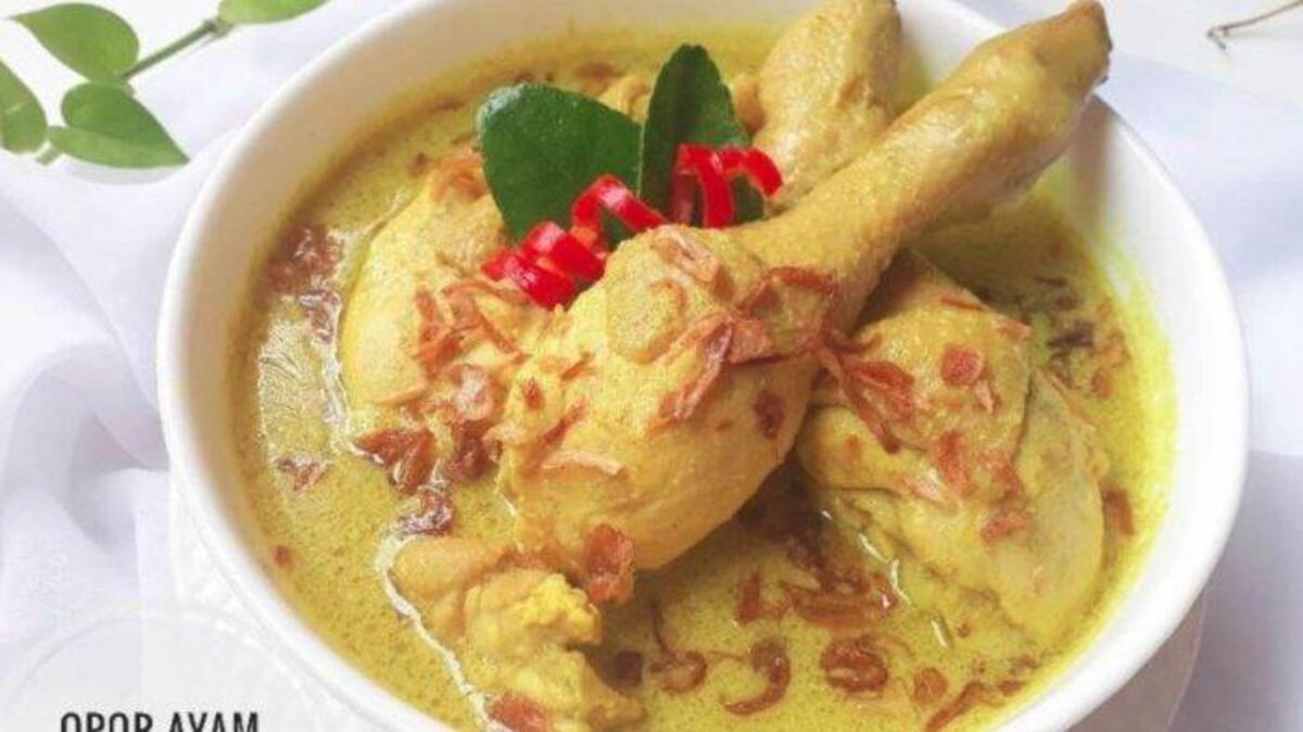 Resep Opor Ayam Kuah Kuning Praktis Dijamin Nikmat