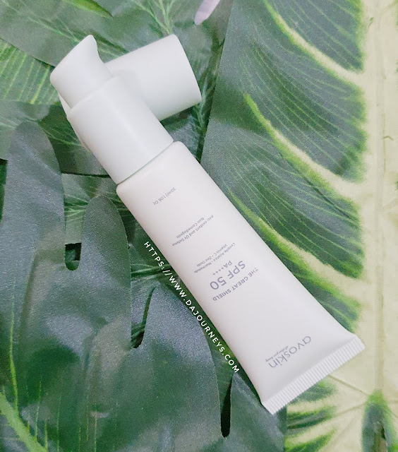 Review Avoskin The Great Shield Sunscreen