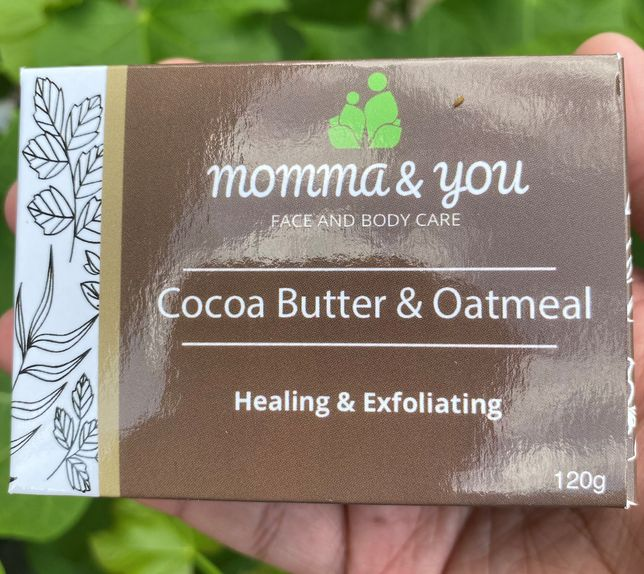 Momma and You Cocoa Butter and Oatmeal Bar Soap by Ed & Kes