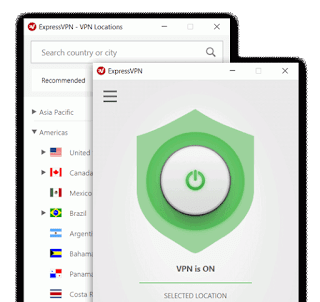 ExpressVPN locations