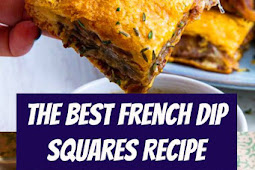 The Best French Dip Squares Recipe #easyrecipe #frenchdip #bites #appetizer #sandwich #party