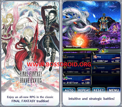 Game Final Fantasy Brave Exvius Mod
