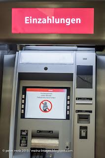wieviel geld kann man am automaten einzahlen