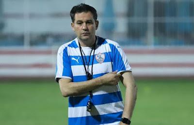 خالد جلال يتحدي الوقت ويعقد جلسة تحفيزية للاعبي الزمالك قبل المران