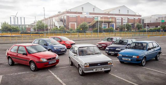 Ford Fiesta: 40 anos e 18 milhões de unidades produzidas