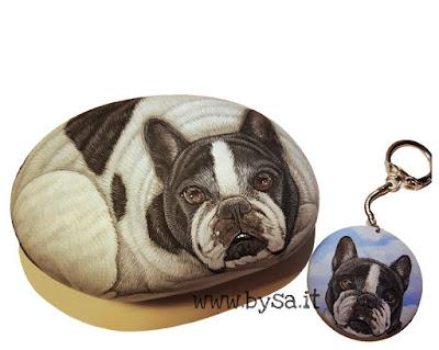 Sassi dipinti prezzi musetti di cane carlino