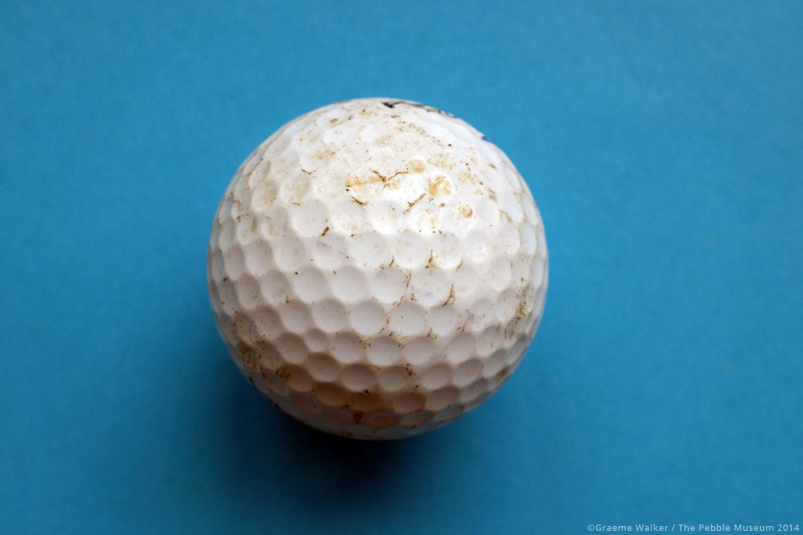 Golf Ball © Graeme Walker / The Pebble Museum 2019
