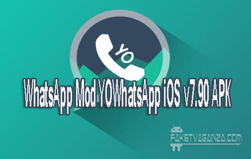 WhatsApp Mod YOWhatsApp iOS v7.90 APK Theme iPhone For Android